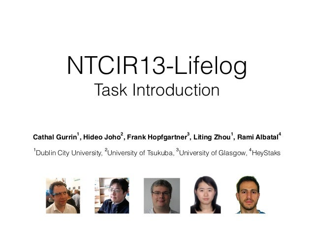 NTCIR13-Lifelog