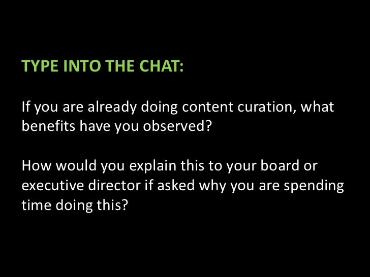 Learn from Observing the                            Master Curatorshttp://masternewmedia.org