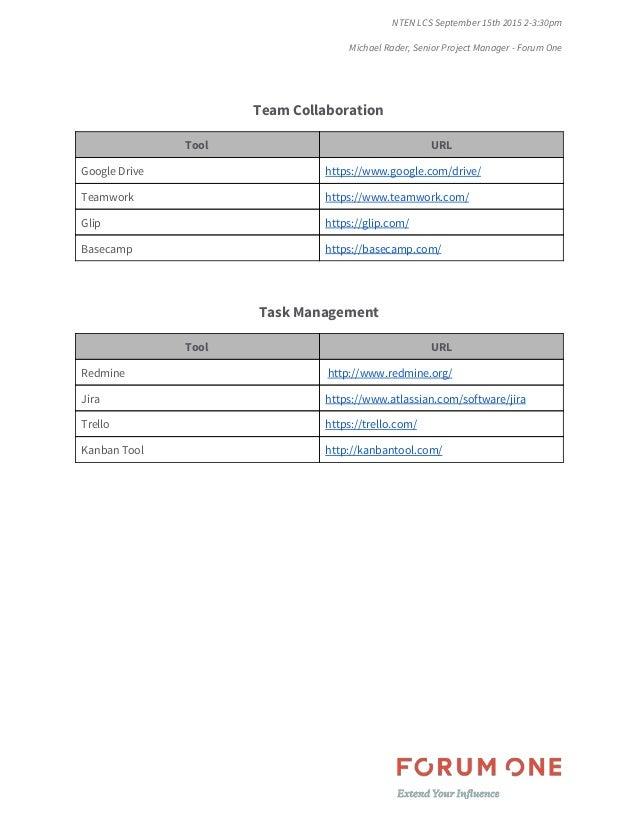 Staff Resource Planning - 1 pager Slide 2