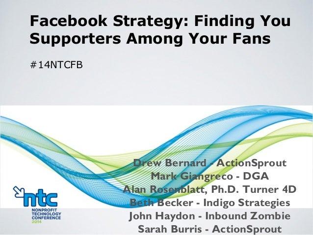 Drew Bernard - ActionSprout Mark Giangreco - DGA Alan Rosenblatt, Ph.D. Turner 4D Beth Becker - Indigo Strategies John Hay...