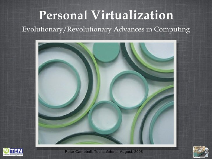 Personal  Virtualization <ul><li>Evolutionary/Revolutionary Advances in Computing </li></ul>