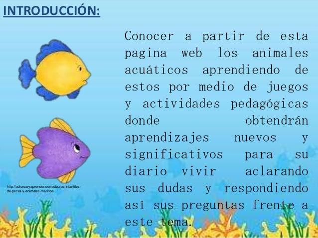 Juegos De Animales Acuaticos Unifeed Club