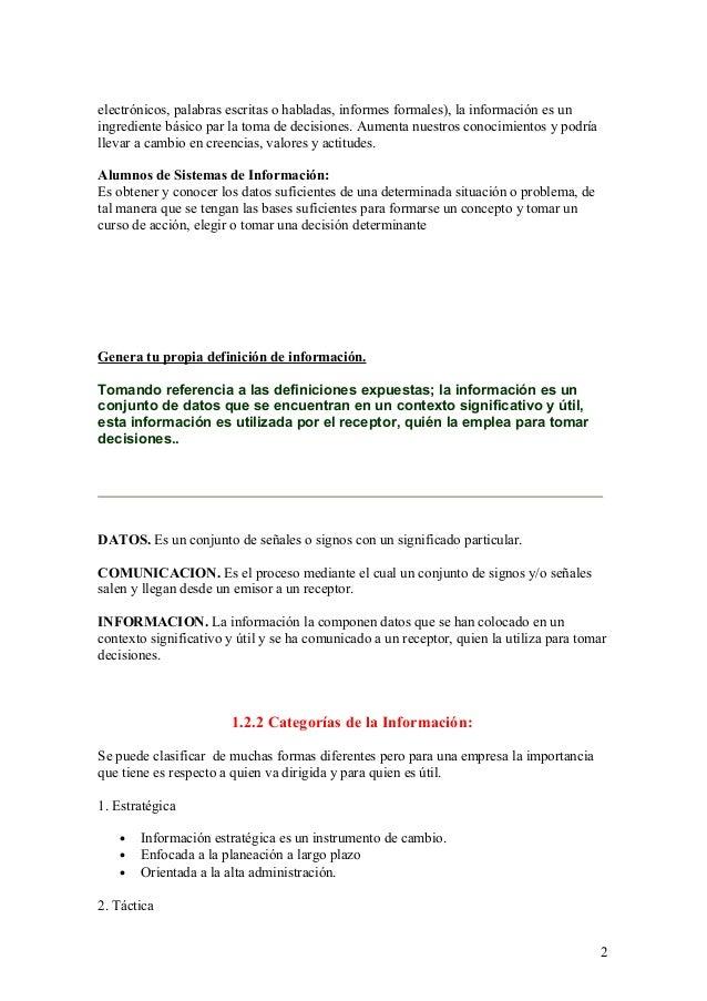 PRACTICA 2: SISTEMA DE INFORMACION Slide 2
