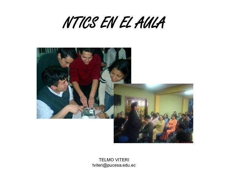 NTICS EN EL AULA