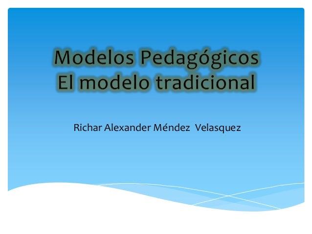 Richar Alexander Méndez Velasquez