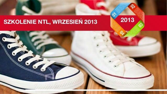 SZKOLENIE NTL, WRZESIEŃ 2013 2013