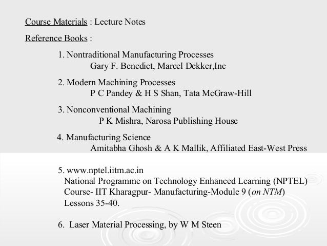 modern manufacturing process by pandey and shan pdf