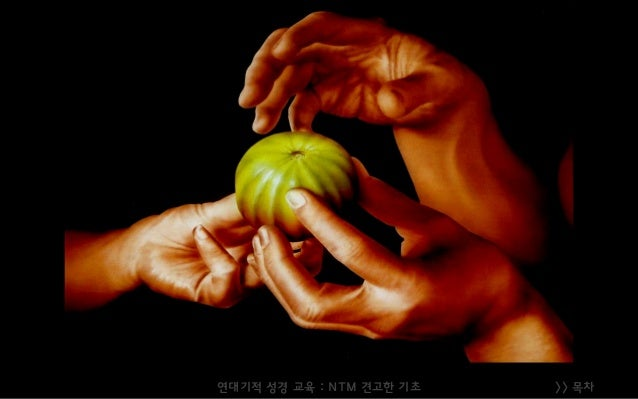 >> 목차연대기적 성경 교육 : NTM 견고한 기초