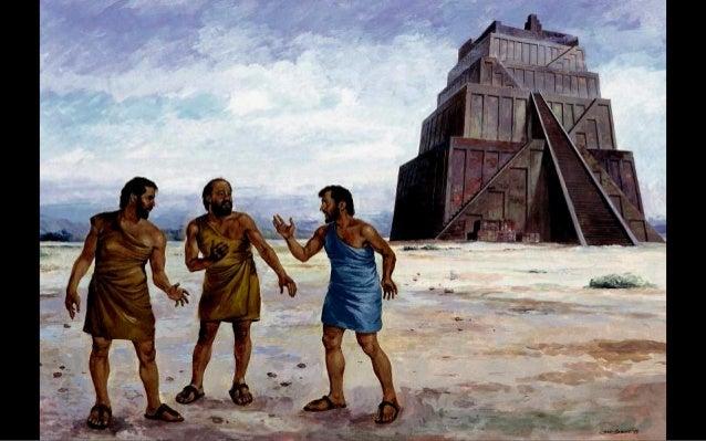 """>> 목차 인간을 흩어 버리심 여호와께서 이르시되 """"이 무리가 한 족속이요 언어 도 하나이므로 이같이 시작하였으니 이후로는 그 하 고자 하는 일을 막을 수 없으리로다. 자, 우리가 내 려가서 거기서 그들의 언어를 혼잡하..."""