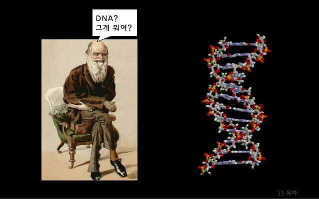 >> 목차 DNA? 그게 뭐여?