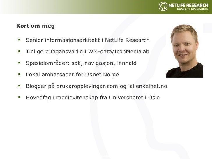 NTNU - Internett for alle Slide 3
