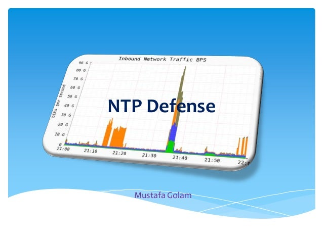NTP Defense  Mustafa Golam