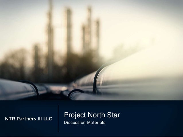 Project North Star Discussion Materials