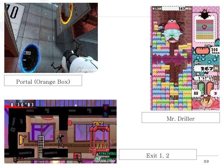 Mr. Driller Portal (Orange Box) Exit 1, 2