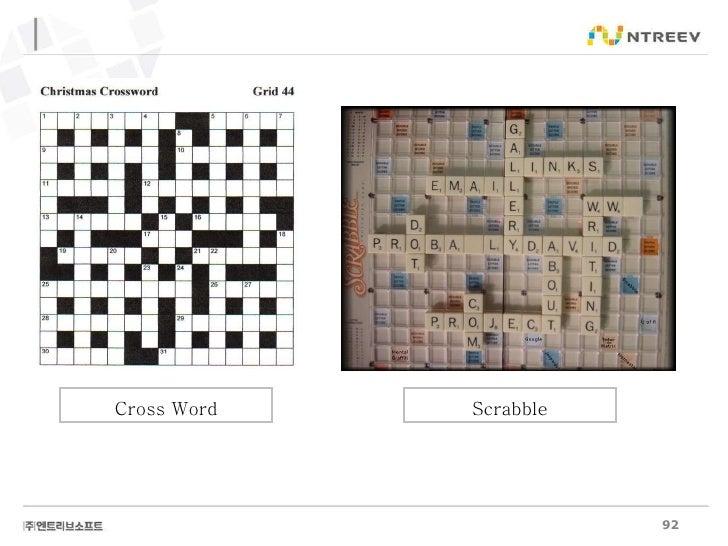 Cross Word Scrabble