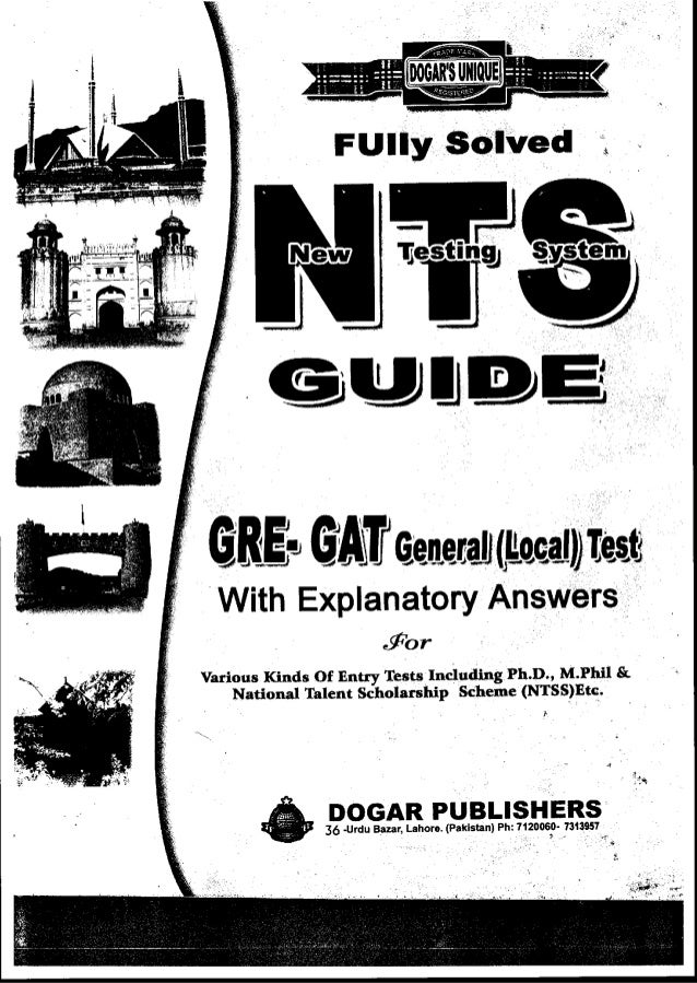 Nts Gat General Book