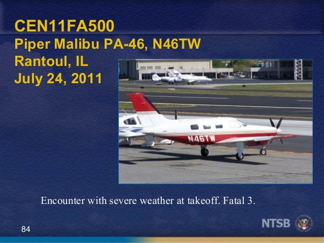 NTSB presents: Weatherwise