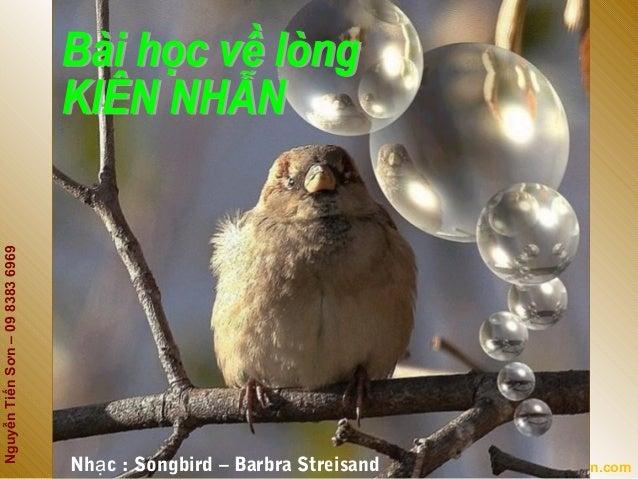 NguyễnTiếnSơn–0983836969Kehoachtaichinhcanhan.comNh c : Songbird – Barbra Streisandạ