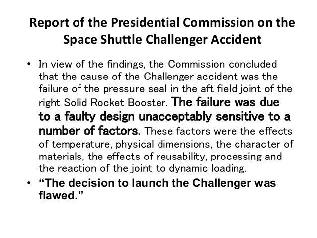 space shuttle challenger findings - photo #40
