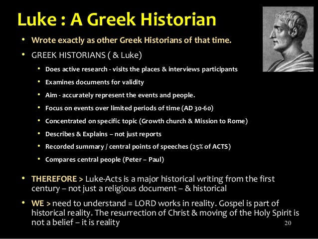 did luke write acts of the apostles