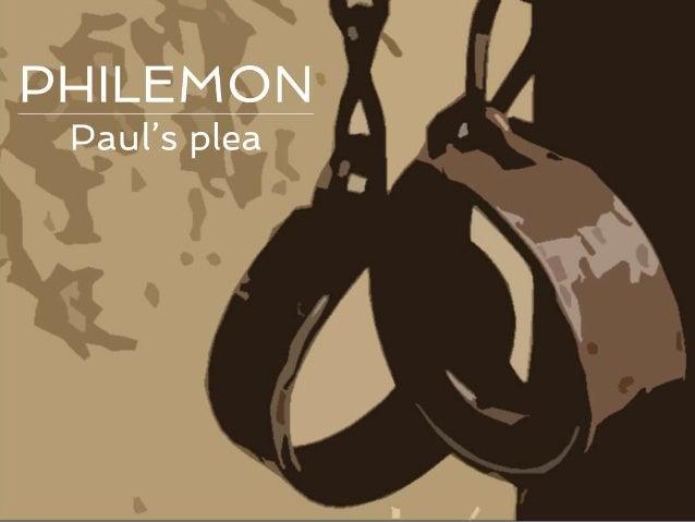 New Testament Survey   no.22: Paul   Letter to Philemon