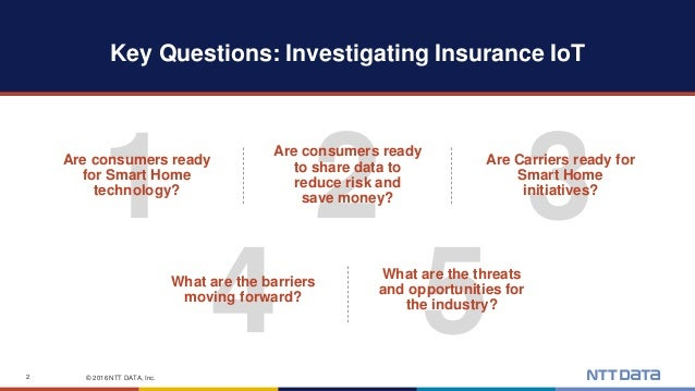 IoT: Disruption and Opportunity in the Insurance Industry Slide 2