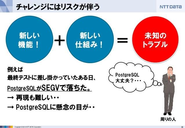 NTT DATA と PostgreSQL が挑んだ総力戦
