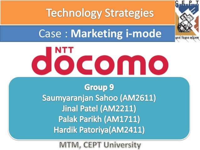 ntt docomo value innovation at