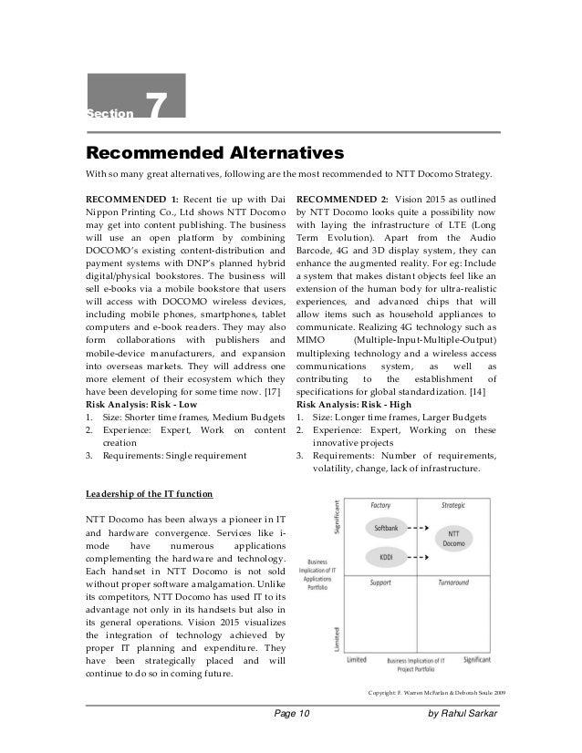 3G Market SWOT & PEST Investigation