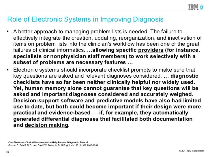 electronic clinical documentation Documentation and coding for patient safety indicators clinical documentation improvement specialists electronic queries linked to the.