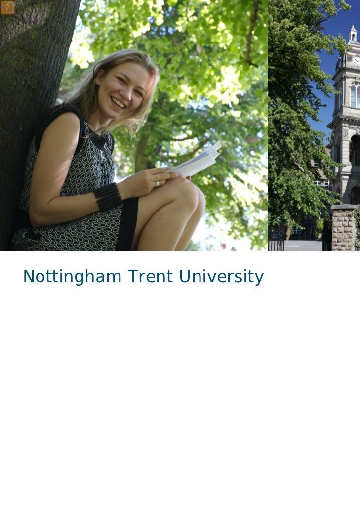 1Nottingham Trent University