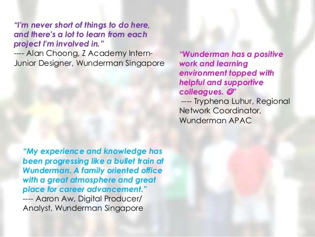 """""""Im never short of things to do here,and theres a lot to learn from eachproject Im involved in.""""---- Alan Choong, Z Academ..."""