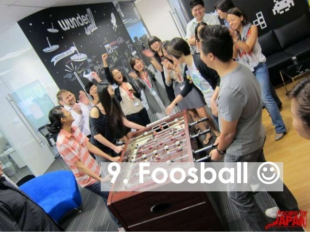 9. Foosball 