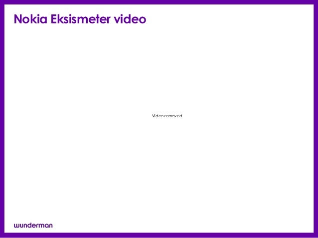 Nokia Eksismeter video                         Video removed
