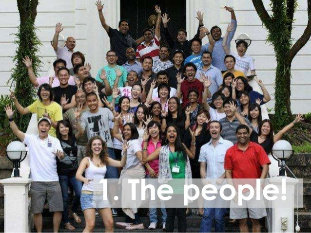 1. The people!