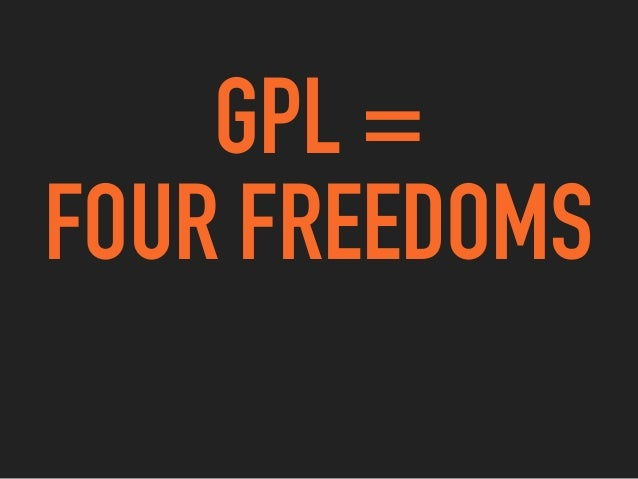 THE FREE SOFTWARE DEFINITION'S FOUR FREEDOMS BY THE FREE SOFTWARE FOUNDATION'S DEFINITION, FREE SOFTWARE GUARANTEES YOU: 0...