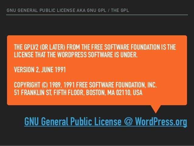 IMPACT GPL license family