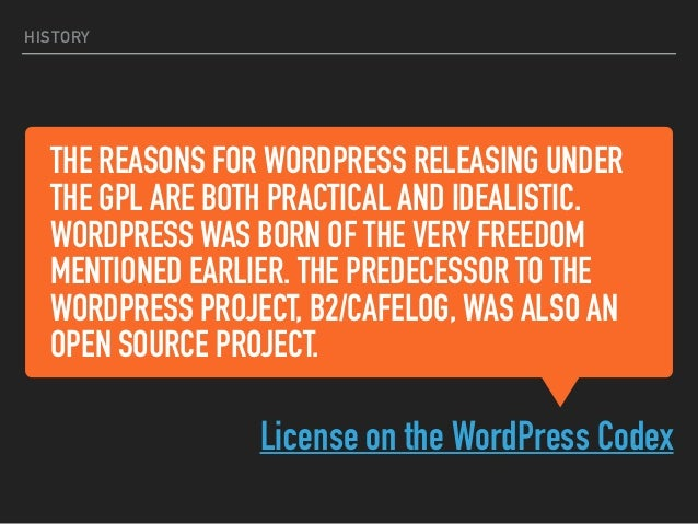 HOW DOES THE GPL COMPARE TO OTHER LICENSES? MIT, Apache, GitHub, Flickr (Creative Commons)