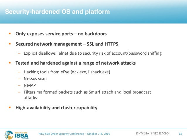 the concepts in security and the approaches to securing the networks Widely vetted security approaches can help close these vulnerabilities while also protecting networks asguard networks and tofino security/belden will address the key concepts of the overlay network securing iot endpoints, networks and the cloud cisco and globalsign.