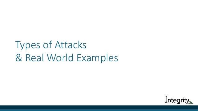 TypesofAttacks &RealWorldExamples