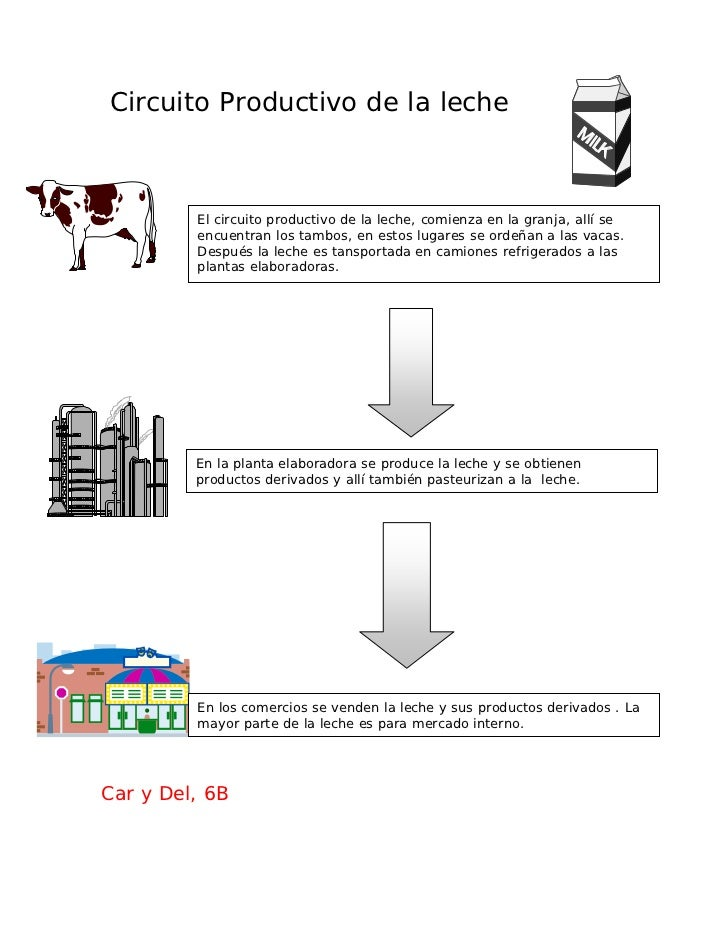 Circuito Productivo De La Leche : Nu a bcircprod