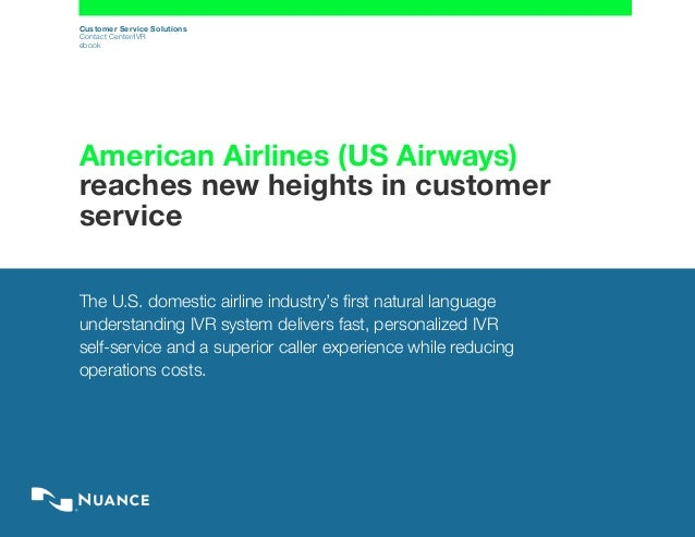 American Airlines Reaches New Heights In Customer Service