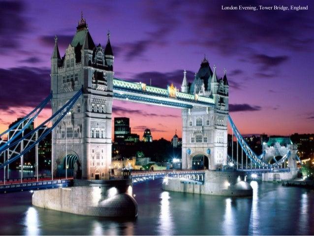 London Evening, Tower Bridge, England