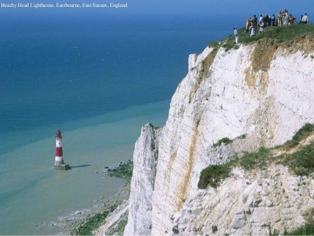 Beachy Head Lighthouse, Eastbourne, East Sussex, England