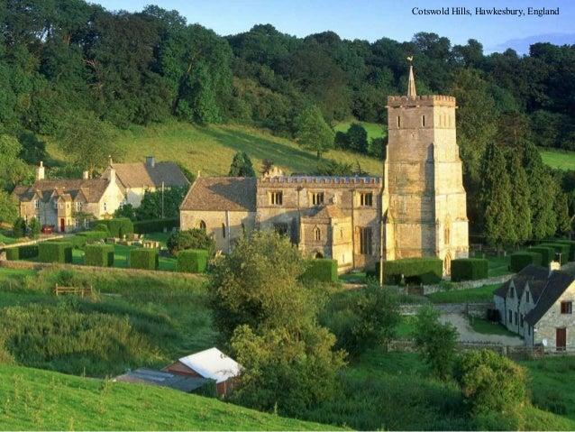 Cotswold Hills, Hawkesbury, England