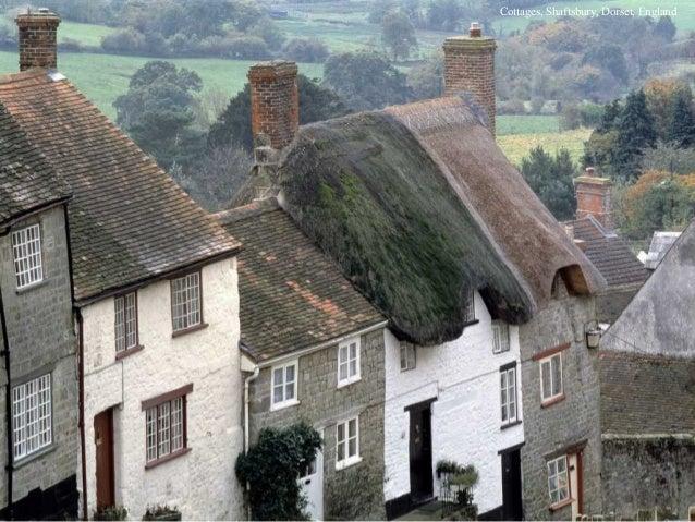 Cottages, Shaftsbury, Dorset, England