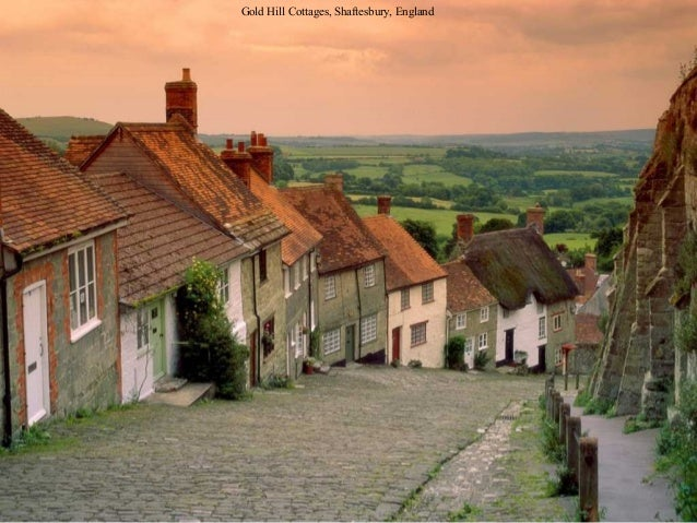 Gold Hill Cottages, Shaftesbury, England