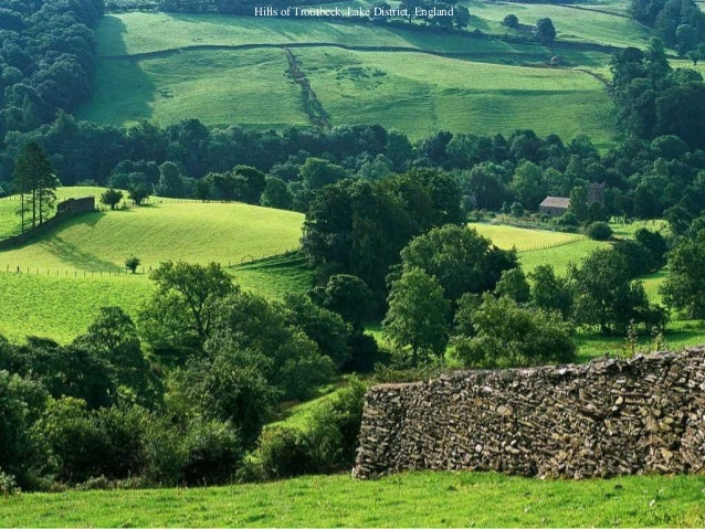 Hills of Troutbeck, Lake District, England