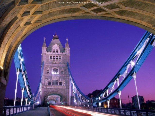 Crossing Over,Tower Bridge, London, England