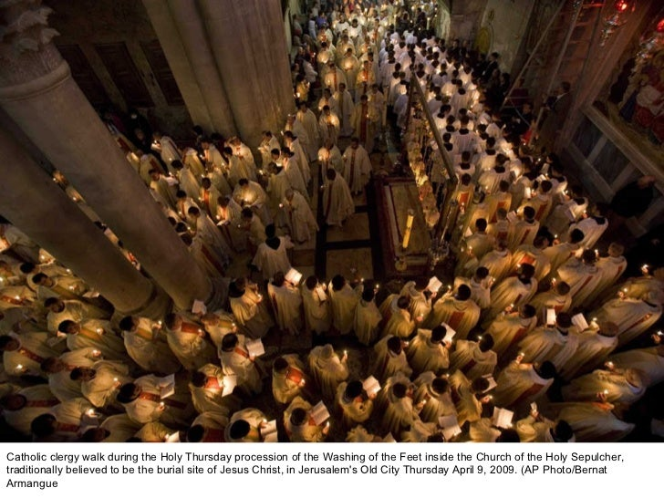 Holy week traditions